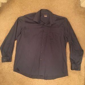 Van Heusen blue dress shirt